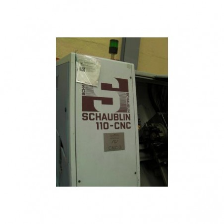 LATHE CNC 3 AXIS BRAND SCHAUBLIN 110 CNC FANUC 21