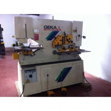 GEKA HYDRACROP 80 WORKERS PUNCHING MACHINE