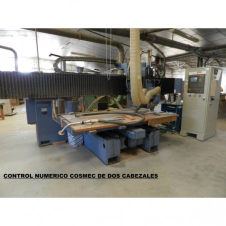 Router Control numerical COSMEC