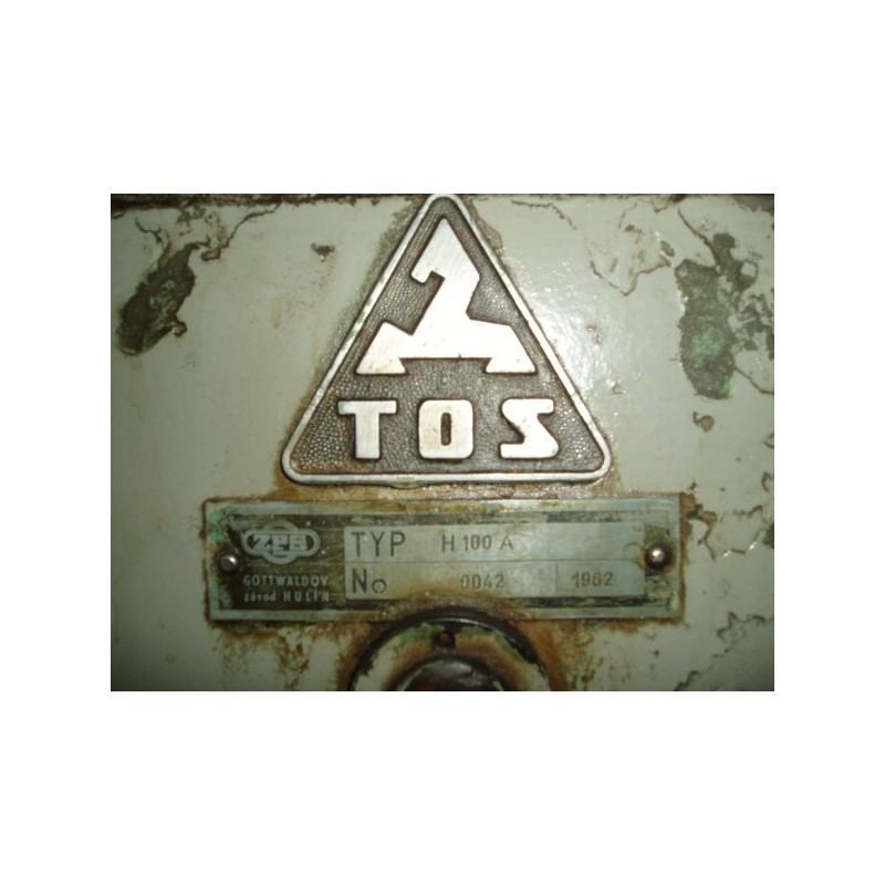 Horizontal borer TOS H100A