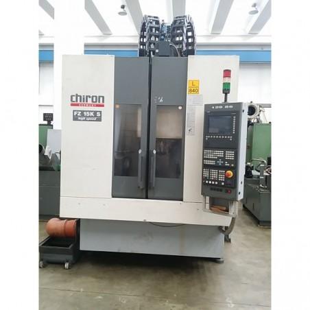 Chiron FZ15KS Highspeed 4 axis
