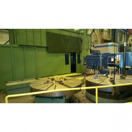 CNC Vertical Turret Lathe with 3 plates DORRIES VCE 180
