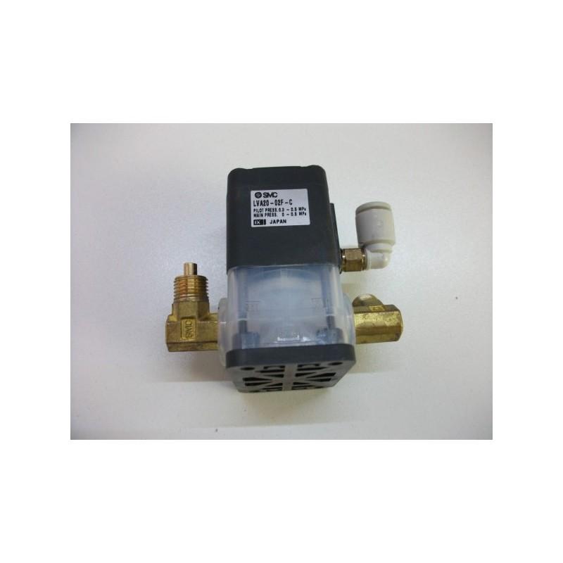 Proceso válvula agua SMC LVA20-02F-C