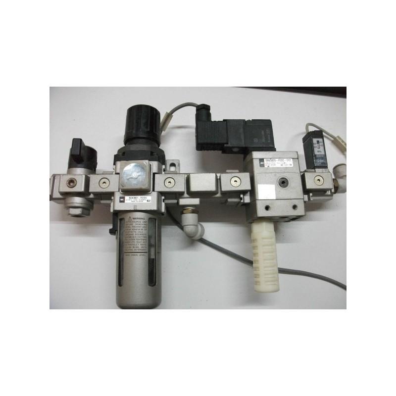 Unidad de mantenimiento SMC Regulador de aire
