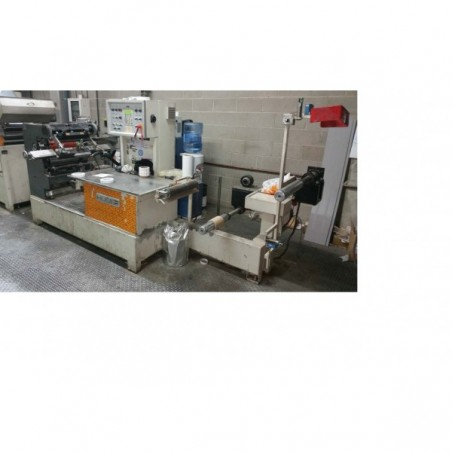 MAQUINA HOT COATING HUSER DE 700 MM.