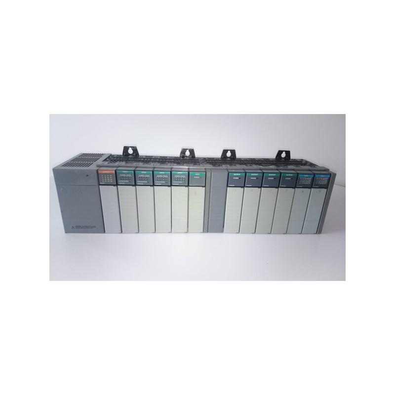 ALLEN BRADLEY SLC 500 I/O SYSTEM 12 SLOT