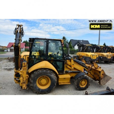 retro excavadora Caterpillar 432E 2008
