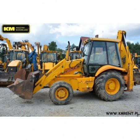retro excavadora JCB 3CX 2000