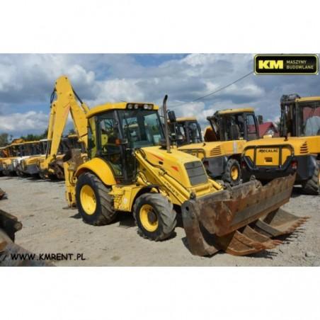 retro excavadora New Holland LB110 2003