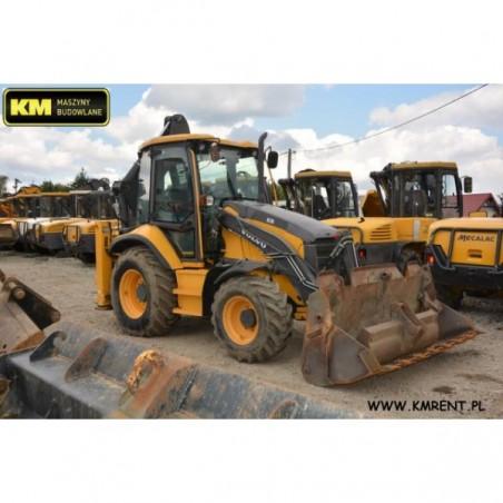 retro excavadora Volvo BL71 2012