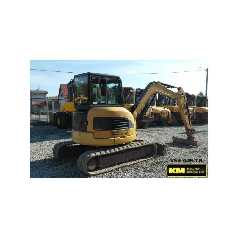 mini excavadora CAT 304 CR 2007
