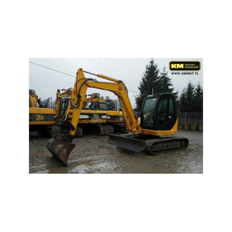 mini excavadora JCB 8080 2007
