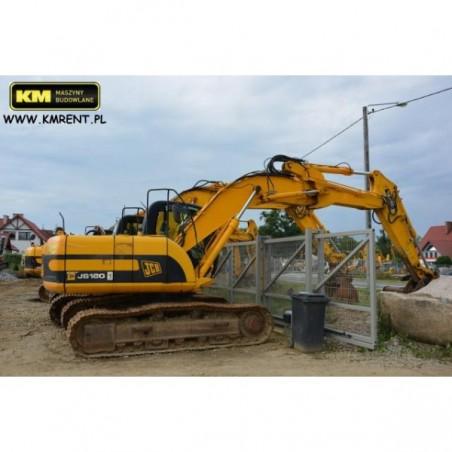 excavadora oruga JCB JS 160 NL 2005