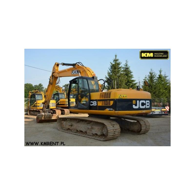 excavadora oruga JCB JS 210 LC 2011