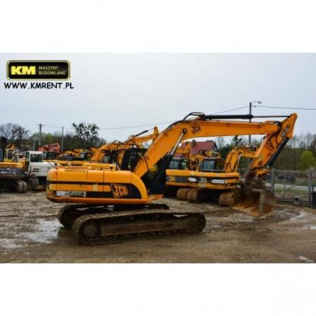 excavadora oruga JCB JS 220 2009