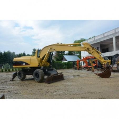 excavadora de ruedas Caterpillar M316 2004