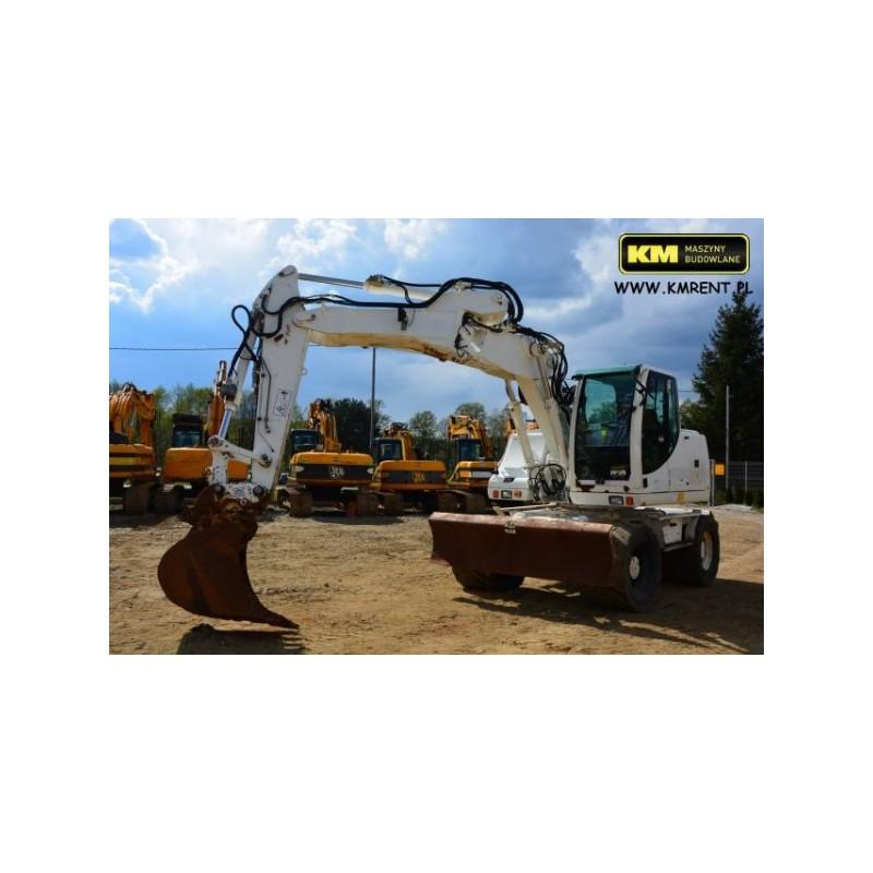 excavadora de ruedas Case WX145 2009