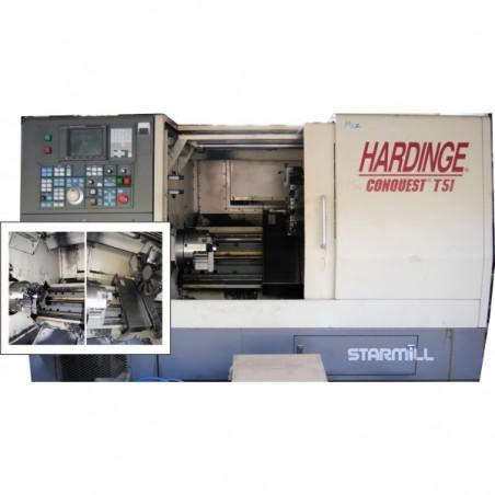 TORNO CNC - HARDINGE - CONQUEST T51