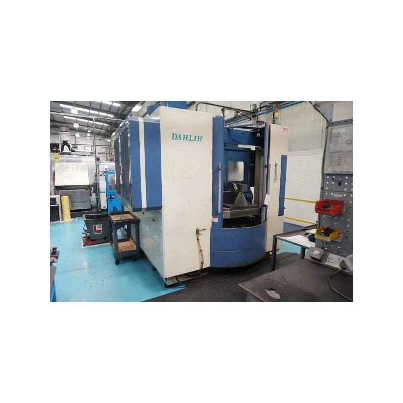 CNC Centro de Mecanizado DAHLIH DL-DMV 800 vertical, 2-paletas