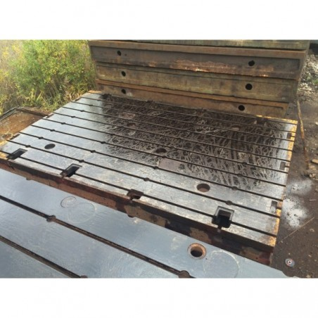 Floor Plates cast iron 2490 x 4000 mm
