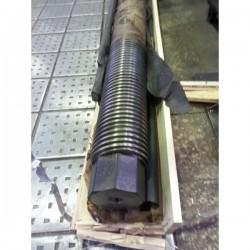Diseño y fabricación de Tornillos sin fin para mecanismos elevadores de compuertas