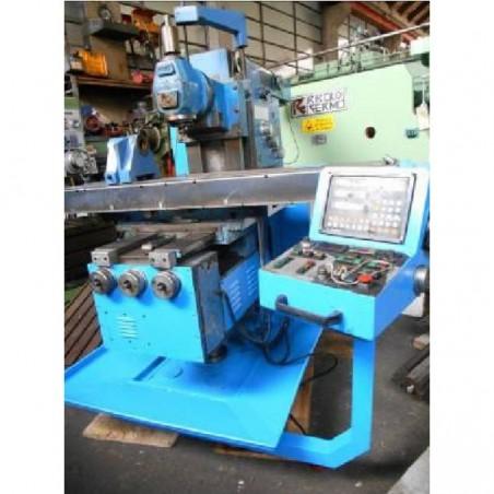 MILLING MACHINE CNC ZEUS UNIVERSAL HEAD ISO 50
