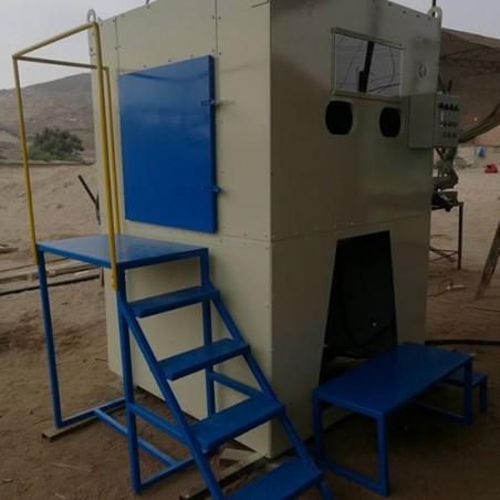 cabina de arenado